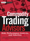 Commodity Trading Advisors (eBook): Risk, Performance Analysis, and Selection